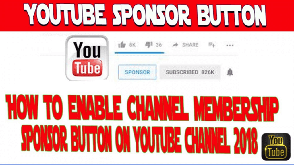 Youtube Sponsor Button